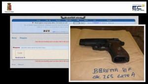 Vendita di armi nel mercato nero Babylon sul dark web