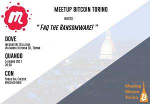 FAQ the Ransomware a Torino presso il SellaLab